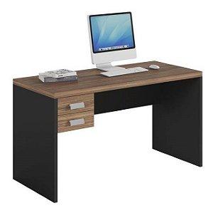 Mesa de Computador 1360 e Gaveteiro Studio Argan/PretoTex