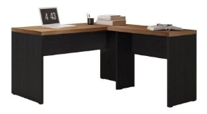 Mesa Office 1360/900 Studio Argan/PretoTex - Caemmun