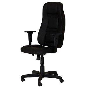 Cadeira Ergo Executiva de Escritório Preta - OPT