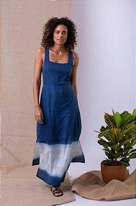 Vestido Rio Tapajós - Algodão Orgânico