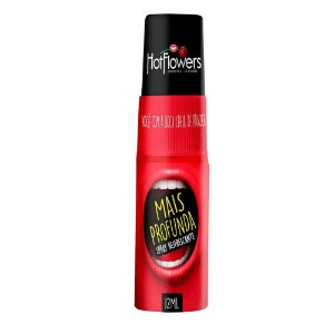 MAIS PROFUNDA SPRAY REFRESCANTE PARA O SEXO ORAL 12 ml