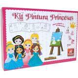 Kit pintura princesas