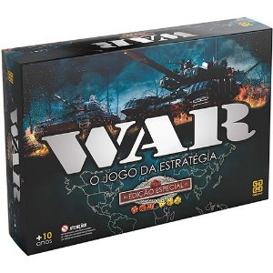 JOGO DE TABULEIRO WAR- EDIÇAO ESPECIAL