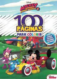 100 PAGINAS PARA COLORIR- MICKEY