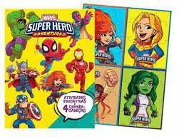 MARVEL APRENDER BRINCANDO- SUPER HERO ADVENTURE