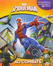 LIVRO COM MINIATURAS- SPIDERMAN