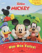 LIVRO COM MINIATURAS- A CASA DO MICKEY