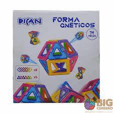 FORMAS MAGNETICAS- 14 PEÇAS
