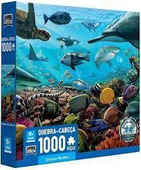 QC 1000 PEÇAS- CRIATURAS MARINHAS