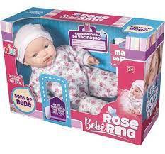 BONECA BEBE ROSE RING