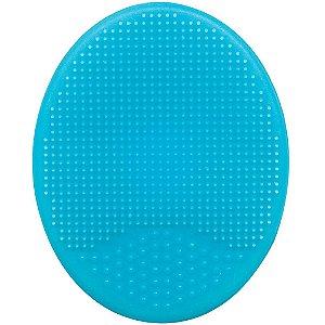 Escova de Banho em Silicone Azul