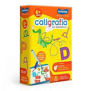 CALIGRAFIA - KIT EDUCATIVO (COM CANETINHA QUE ESCREVE E APAGA)