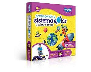 Quebra Cabeça Educativo - Conhecendo o Sistema Solar (120pçs)