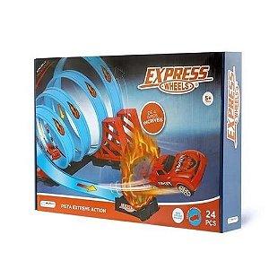 PISTA EXTREME ACTION TRACK SET 24 PC