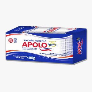 Algodao Apolo Caixa - 100 Gr - Unid