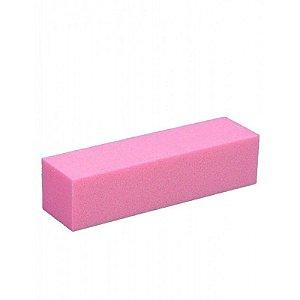 Lixa Bloco de Polir Rosa 10und