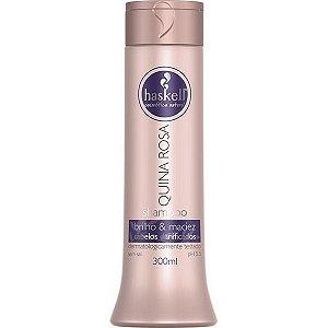 Shampoo Quina Rosa 300Ml Haskell