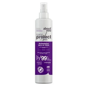Spray Virucida e Bactericida Para Mãos - Fresh - Nano Protect