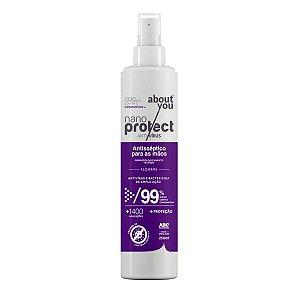 Spray Virucida e Bactericida Para Mãos - Flowers - Nano Protect