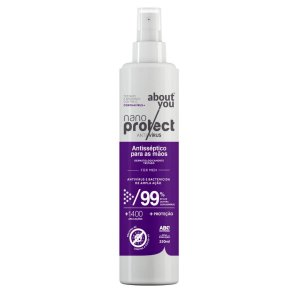 Spray Virucida e Bactericida Para Mãos - For Man - Nano Protect