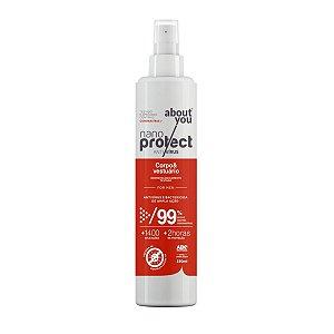 Spray Virucida e Bactericida Para Corpo e Vestuário - For Men - Nano Protect