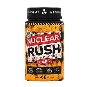 NUCLEAR RUSH CAPS PRE WORKOUT - 60 CÁPSULAS - BODY ACTION