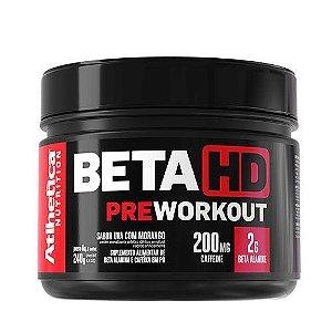 BETA HD PRE WORKOUT - 240G - ATLHETICA NUTRITION