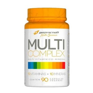 MULTI COMPLEX - 90 CÁPSULAS - BODY ACTION