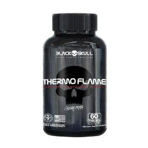THERMO FLAME - 60 TABLETES - BLACK SKULL