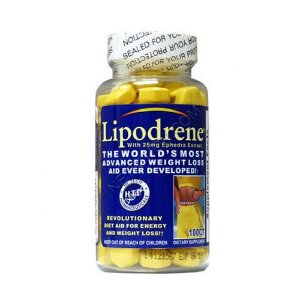 LIPODRENE ORIGINAL - 100 TABLETES - HI TECH (IMPORTADO)