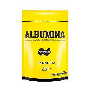 ALBUMINA - 500G - (SABORES) - NATUROVOS