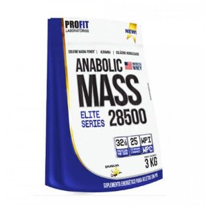 ANABOLIC MASS 28500 - 3KG - PROFIT LABORATÓRIOS