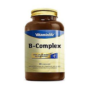 B - COMPLEX - 90 CÁPSULAS - VITAMIN LIFE