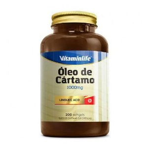 ÓLEO DE CÁRTAMO - 200 SOFTGELS - VITAMIN LIFE