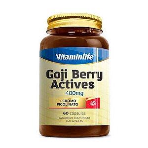 GOJI BERRY ACTIVES 400MG - 60 CÁPSULAS - VITAMIN LIFE