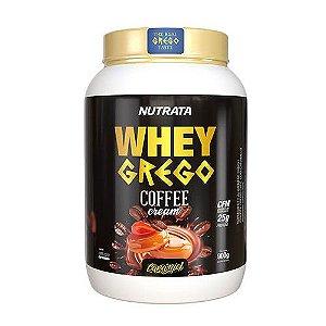 WHEY GREGO COFFEE CREAM - 900G - NUTRATA