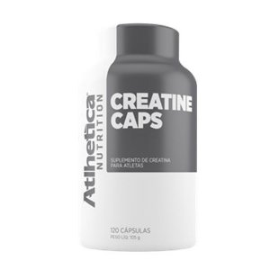 CREATINE - 120 CÁPSULAS - ATLHETICA NUTRITION