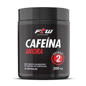 CAFEÍNA ANIDRA 200MG - 30 CÁPSULAS - FTW SPORTS NUTRITION