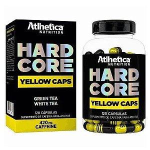 HARDCORE YELLOW CAPS - ATLHETICA NUTRITION