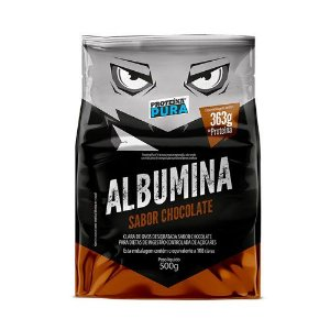 ALBUMINA - 500G - PROTEÍNA PURA