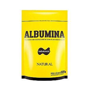 ALBUMINA - 500G - (NATURAL) - NATUROVOS