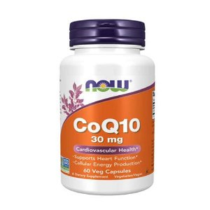 COQ10 - 30MG - 60 CÁPSULAS - NOW FOODS (IMPORTADO)