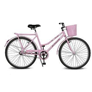Bicicleta Kyklos Aro 26 Circular 5.5 Freio Contrapedal com Cesta