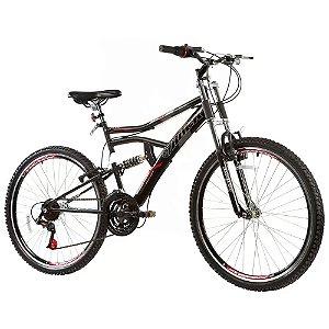 Bicicleta Track Bikes Boxxer c/ Dupla Suspensão