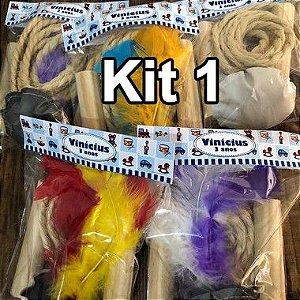 Kit peteca e corda, personalizado em qualquer tema
