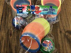 Kit mola maluca e ioio personalizado PJ Masks