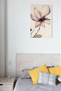 Placa decorativa Flor
