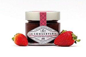 Geleia Premium de Morango com Baunilha Bourbon- La Conserveria
