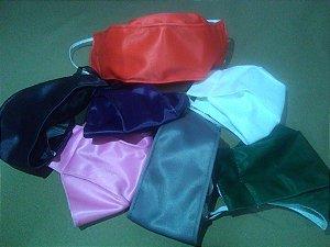 Kit de máscara antiviral, modelo anatomica/oval, com 10 peças varias cores, dupla camada, fácil respiração, confortável