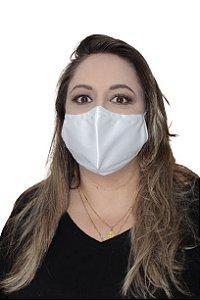Máscara antiviral Berilo, modelo anatômico, dupla camada, fácil respiração, confortável